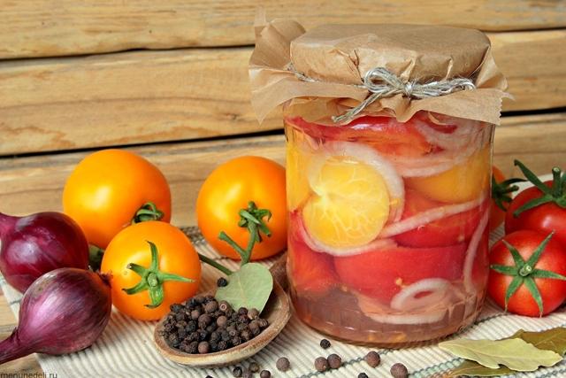 Помидоры в желатине на зиму: 9 очень вкусных и простых рецептов приготовления